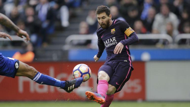 """Капитан """"Барселоны"""" Лионель МЕССИ. Фото Reuters"""