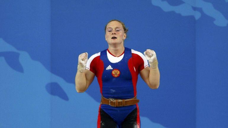13 августа 2008 года. Пекин. Оксана СЛИВЕНКО на Олимпийских играх. Фото REUTERS