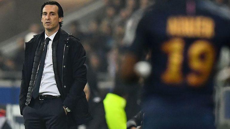 "Суббота. Лион. ""Монако"" - ""ПСЖ"" - 1:4. Унаи ЭМЕРИ выиграл еще один кубок во Франции. Фото AFP"