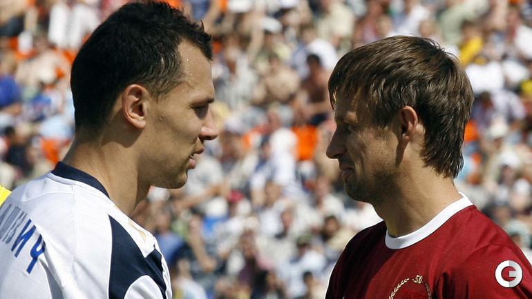2008 год. Сергей ИГНАШЕВИЧ и Сергей СЕМАК.