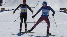 Участие Антона ШИПУЛИНА (справа) в чемпионате России ограничилось мужской эстафетой.