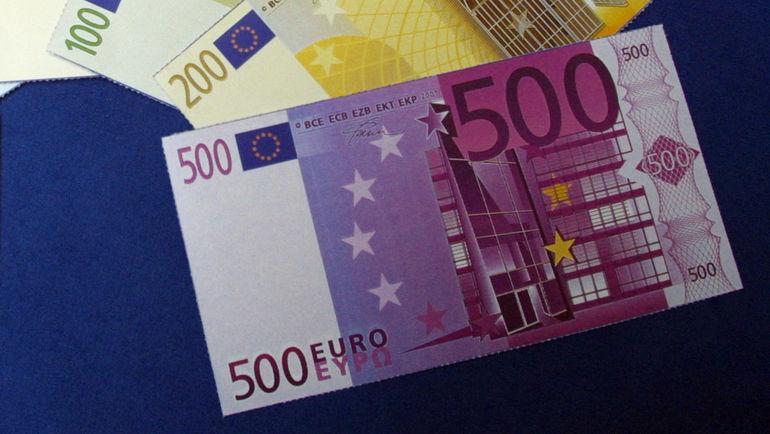 Евро - новая единая валюта Европы. Фото AFP