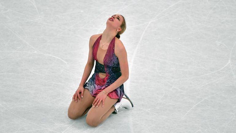 Анна ПОГОРИЛАЯ провалила произвольную программу. Фото AFP