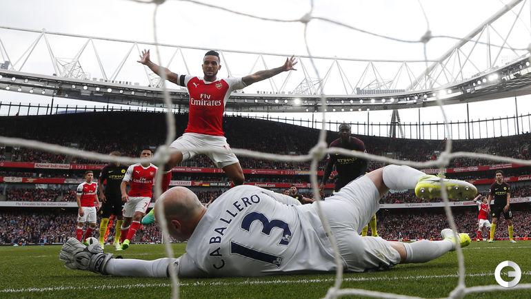 "Сегодня. Лондон. ""Арсенал"" - ""Манчестер Сити"" - 2:2."