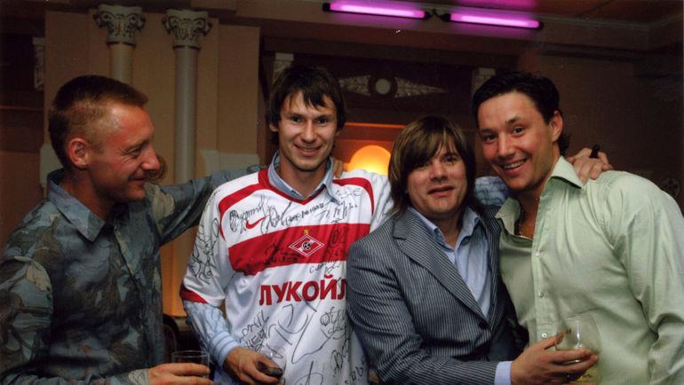 Слева направо: Андрей ТИХОНОВ, Егор ТИТОВ, Николай ТРУБАЧ и Илья КОВАЛЬЧУК. Фото из личного архива Егора Титова