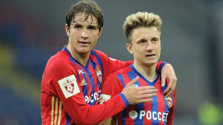 МАРИУ ФЕРНАНДЕС (слева) и Александр ГОЛОВИН. Фото Александр ФЕДОРОВ, «СЭ»