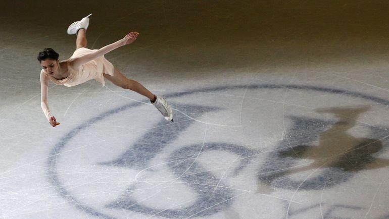 Вчера. Хельсинки. Произвольное выступление Евгении МЕДВЕДЕВОЙ. Фото REUTERS