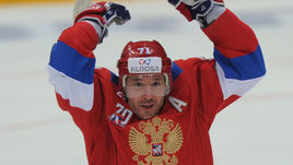 Илья КОВАЛЬЧУК (в центре) будет лидером сборной России на Олимпиаде-2018 в отстуствие игроков из НХЛ.