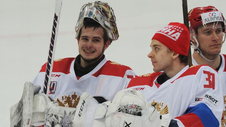 Игорь ШЕСТЕРКИН (слева) и Илья СОРОКИН. Фото Александр ФЕДОРОВ, «СЭ»
