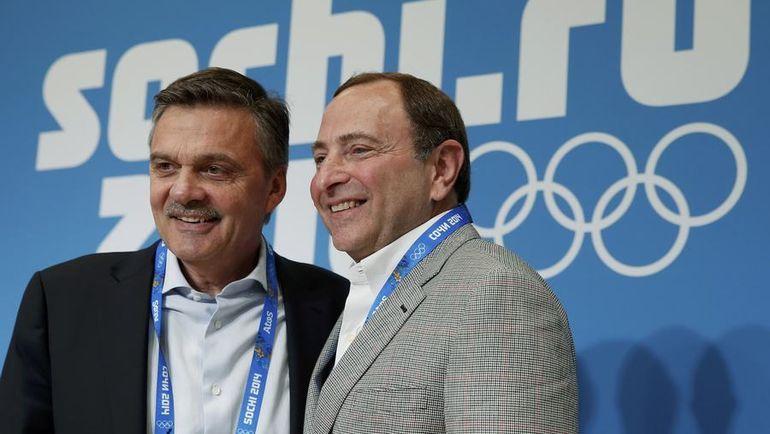 Рене ФАЗЕЛЬ (слева) и Гэри БЭТТМЕН. Фото Reuters