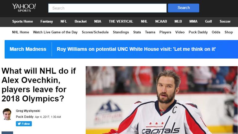 Yahoo! Sports.