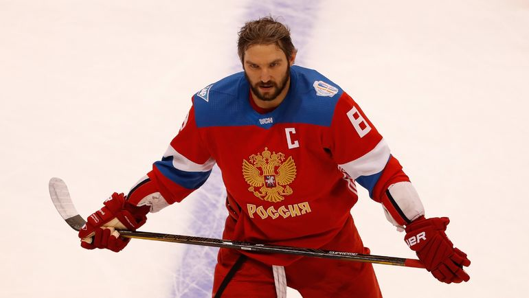 Капитан сборной России Александр ОВЕЧКИН. Фото Reuters