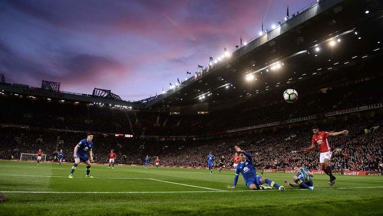 "Вчера. Манчестер. ""Манчестер Юнайтед"" – ""Эвертон"" – 1:1."