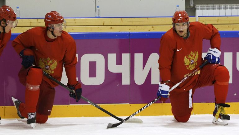 Евгений МАЛКИН и Александор ОВЕЧКИН. Фото Reuters