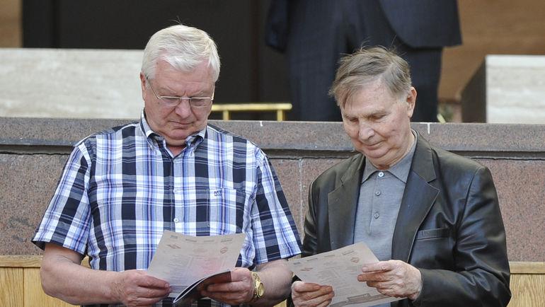 "Валерий ГУЩИН и Виктор ТИХОНОВ. Фото Александр ФЕДОРОВ, ""СЭ"""