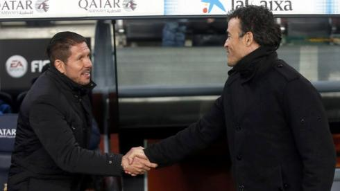 Где в будущем сезоне окажутся Диего СИМОНЕ и ЛУИС ЭНРИКЕ? Фото AFP
