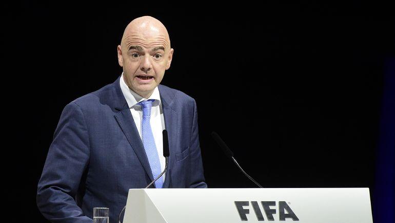 Глава ФИФА Джанни ИНФАНТИНО. Фото AFP