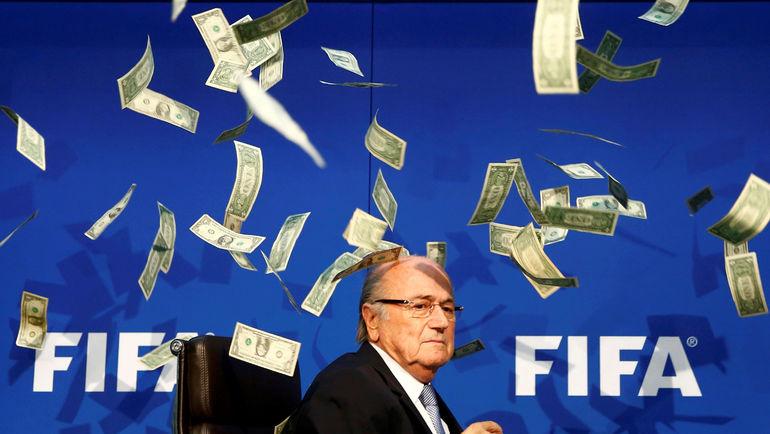 При Зеппе БЛАТТЕРЕ ФИФА была прибыльной. Фото REUTERS