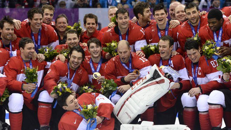 Канадцы - победители двух последних Олимпиад. Фото AFP
