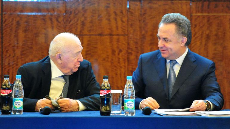 "Никита СИМОНЯН (слева) и Виталий МУТКО. Фото Никита УСПЕНСКИЙ, ""СЭ"""