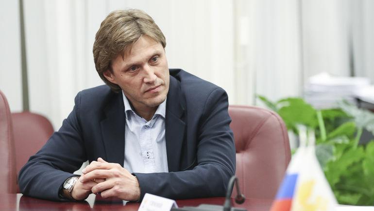Наставник молодежной сборной Евгений БУШМАНОВ. Фото РФС