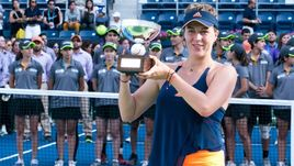 Воскресенье. Монтеррей. Анастасия ПАВЛЮЧЕНКОВА в четвертый раз в карьере выиграла турнир в Мексике.