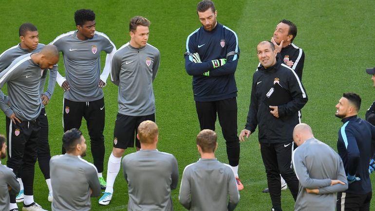 Монегаски подходят к встрече в Дортмунде в статусе лидера чемпионата Франции. Фото AFP