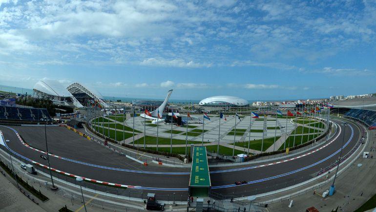 Автодром в Сочи. Фото AFP
