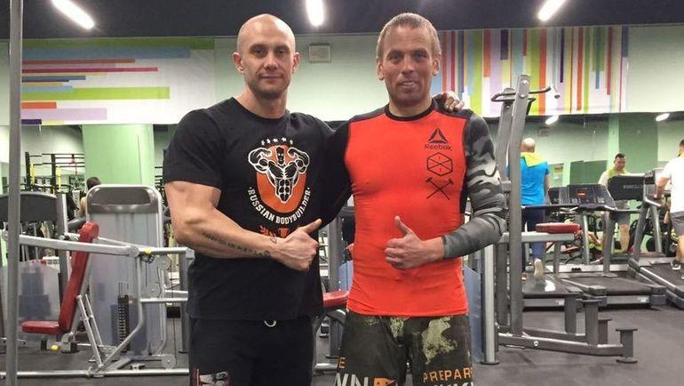 """Сергей ТАРАТЫНОВ (слева) и Александр ЕГОРОВ. Фото """"СЭ"""""""