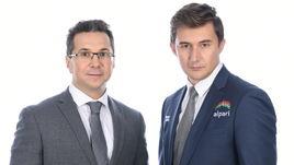Кирилл ЗАНГАЛИС (слева) и Сергей КАРЯКИН.