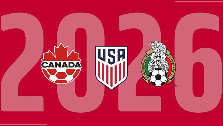 Канада, США и Мексика хотят провести чемпионат мира-2026. Фото twitter.com