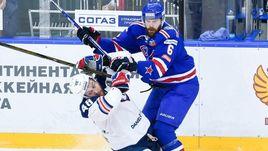 """Среда. Санкт-Петербург. СКА - """"Металлург"""" Мг - 2:1 2ОТ. Питерская команда выиграла первый матч на своем льду."""