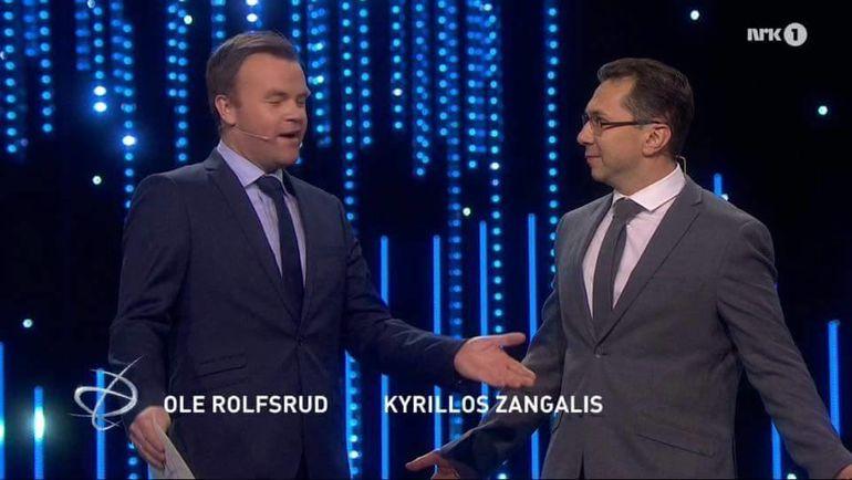 Оле РОДСФОРД и Кирилл ЗАНГАЛИС - в эфире.