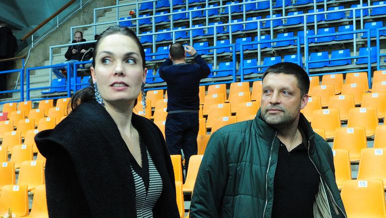 Татьяна ГРАЧЕВА и Игорь ЧЕРЕВЧЕНКО. Фото Никита УСПЕНСКИЙ, «СЭ»