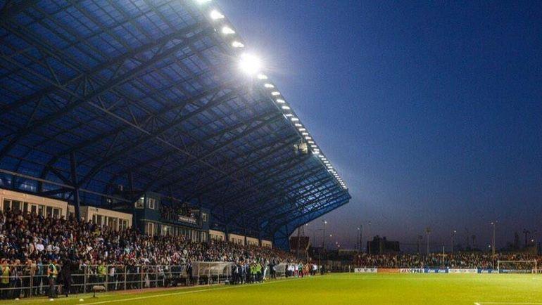 "Стадион ""Газовик"" в Оренбурге. Фото fcgazovik.ru"