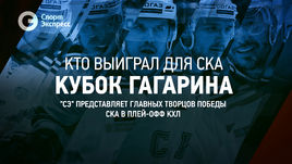 Кто выиграл для СКА Кубок Гагарина