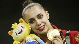 Олимпийская чемпионка Рио-2016 Маргарита МАМУН.