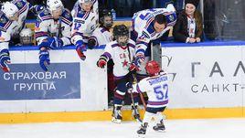Сегодня. Санкт-Петербург. На гала-матч многие армейцы вышли со своими детьми.