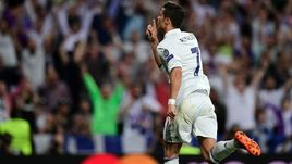 "Вторник. Мадрид. ""Реал"" - ""Бавария"" - 4:2. КРИШТИАНУ РОНАЛДУ оформил хет-трик."