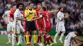 """Вторник. Мадрид. """"Реал"""" – """"Бавария"""" – 4:2 д.в. Венгерская бригада Виктора КОШШОИ допустила ряд резонансных ошибок."""