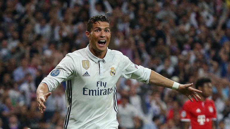 """Нападающий """"Реала"""" КРИШТИАНУ РОНАЛДУ оформил дубль и хет-трик в двух матчах 1/4 финала Лиги чемпионов с """"Баварией"""" (2:1 в Мюнхене и 4:2 д.в. в Мадриде). Фото Reuters"""