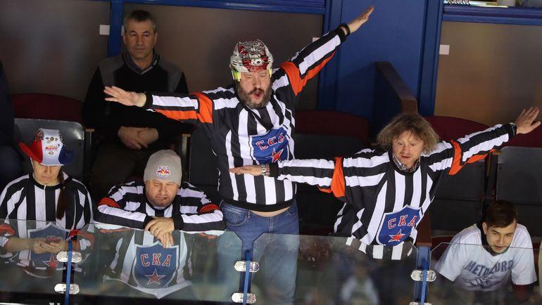 Болельщики на финале Кубка Гагарина. Фото photo.khl.ru