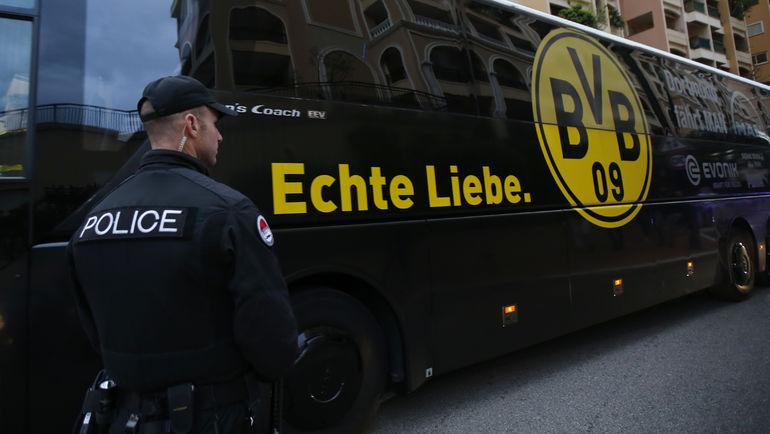 """Задержан подозреваемый в попытке подрыва автобуса дортмундской """"Боруссии"""". Фото Reuters"""
