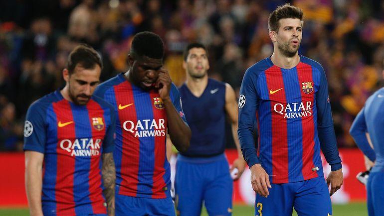 """Среда. Барселона. """"Барселона"""" - """"Ювентус"""" - 0:0. Футболисты испанской команды не смогли совершить еще одно чудо в Лиге чемпионов. Фото AFP"""