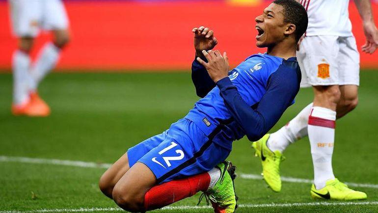 """Восходящая звезда """"Монако"""", французского и мирового футбола Кильян МБАППЕ. Фото Reuters"""