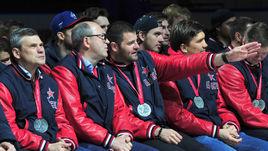 Игорь ЕСМАНТОВИЧ (второй слева) может стать главным тренером ЦСКА.
