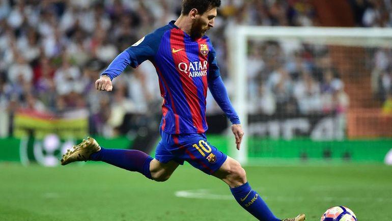 """Воскресенье. Мадрид. """"Реал"""" - """"Барселона"""" - 2:3. В атаке Лионель МЕССИ. Фото Reuters"""