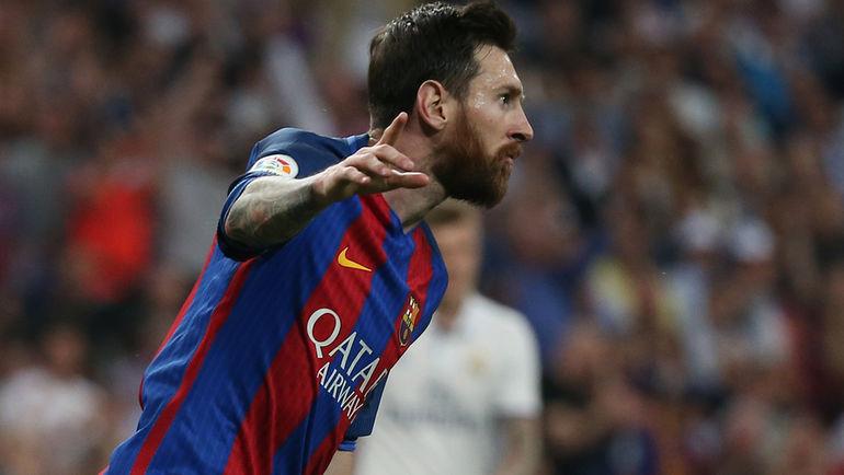 """Воскресенье. Мадрид. """"Реал"""" - """"Барселона"""" - 2:3. Лионель МЕССИ. Фото Reuters"""