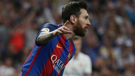 """Воскресенье. Мадрид. """"Реал"""" - """"Барселона"""" - 2:3. Лионель МЕССИ."""