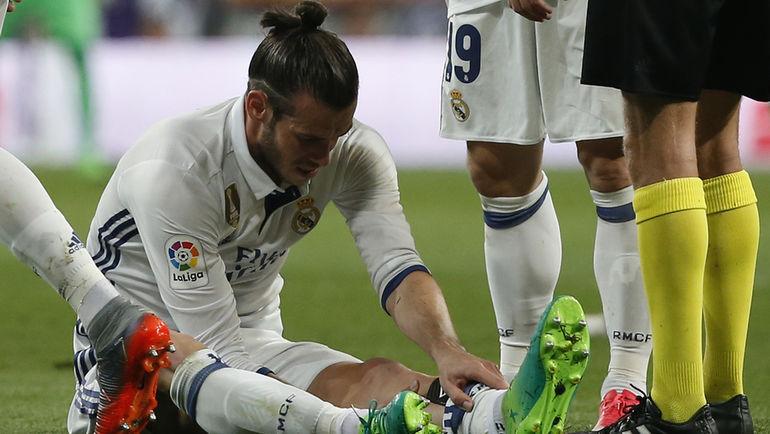 Гарет БЭЙЛ не смог доиграть матч из-за повреждения. Фото Reuters